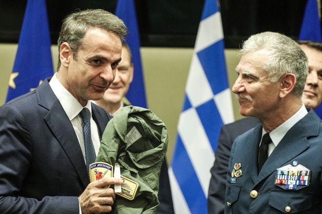 Επίσκεψη του Πρωθυπουργού Κυριάκου Μητσοτάκη στο Υπουργείο Εθνικής Άμυνας, Τετάρτη 17 Ιουλίου 2019.