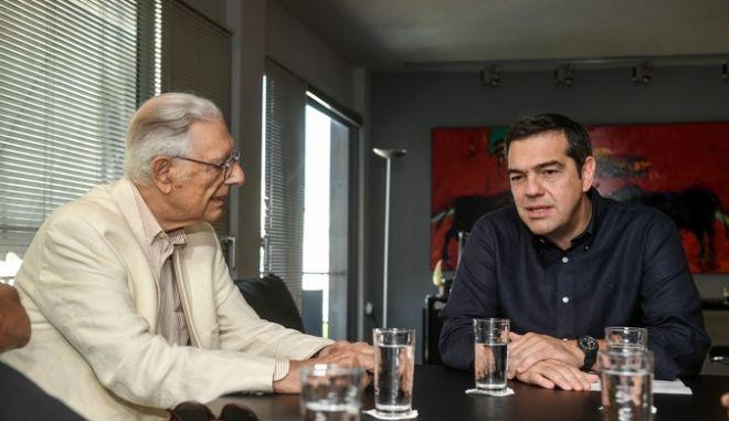 Συνάντηση του Προέδρου του ΣΥΡΙΖΑ, Αλέξη Τσιπρα  με το Διοικητικό Συμβούλιο του ΚΕΘΕΑ, την Πέμπτη 3 Οκτωβρίου 2019. (EUROKINISSI/ΤΑΤΙΑΝΑ ΜΠΟΛΑΡΗ)