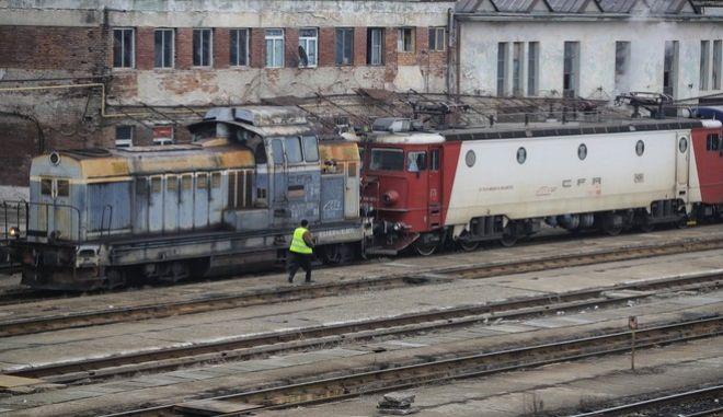 Βαγόνια τρένου στη Ρουμανία (φωτογραφία αρχείου)