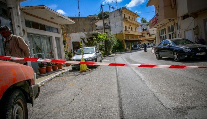 'Εγκλημα εξαιτίας λογομαχίας για κτηματικές διαφορές με δυο νεκρούς στα Ανώγεια.