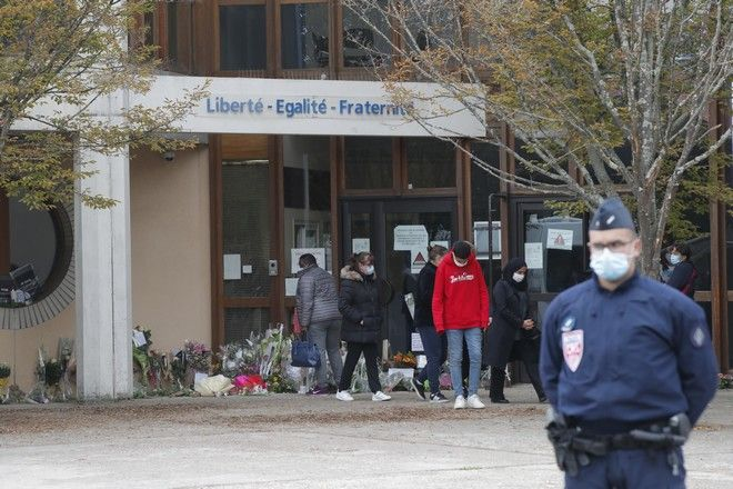 Το σημείο της επίθεσης στο Παρίσι