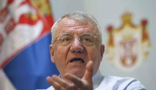 Ο Β. Σέσελι ποδοπάτησε την κροατική σημαία ενώπιον βουλευτών από την Κροατία