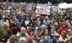 Γερμανία: Τουλάχιστον 25.000 διαδηλωτές στους δρόμους για να διαμαρτυρηθούν για τη στάση των Βαυαρών συμμάχων της Άγγελας Μέρκελ στο μεταναστευτικό