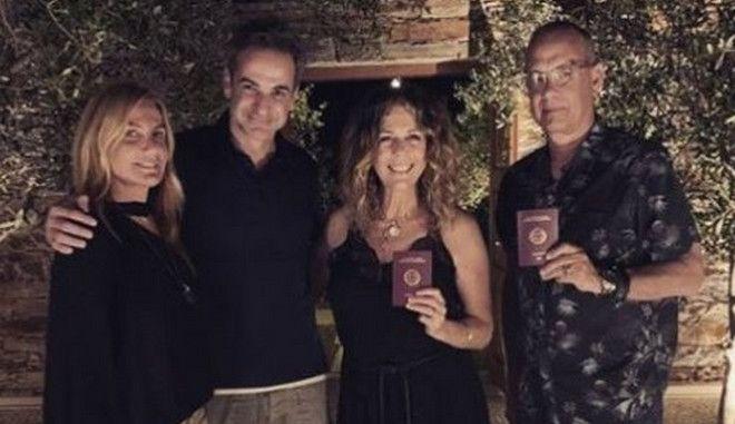 "Bild για Τομ Χανκς και Ρίτα Γουίλσον: ""Τώρα είναι Έλληνες"""