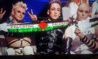 Eurovision 2019: Η στιγμή που οι Ισλανδοί σηκώνουν κασκόλ υπέρ των Παλαιστινίων