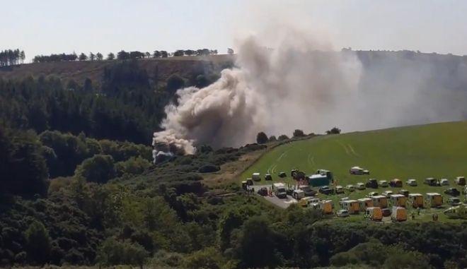Σκωτία: Εκτροχιασμός τρένου - 30 ασθενοφόρα και ελικόπτερα στο σημείο