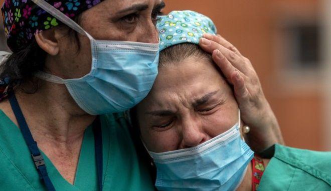 Νοσηλεύτριες σε νοσοκομείο της Ισπανίας