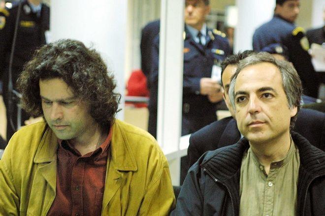 Δίκη της 17 Νοέμβρη - Δημήτρης Κουφοντίνας και Σάββας Ξηρός