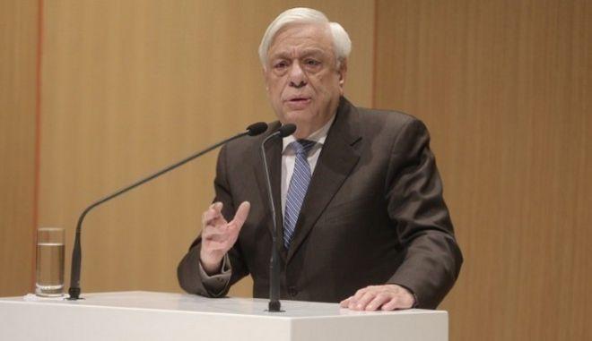 Προκόπης Παυλόπουλος: Μόνο ενωμένοι και αποφασισμένοι θα προασπίσουμε την Ελευθερία μας