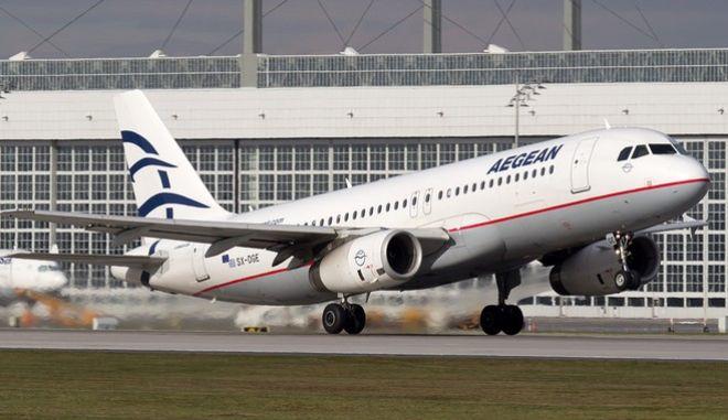Ακυρώσεις πτήσεων της AEGEAN προς και από Βρυξέλλες