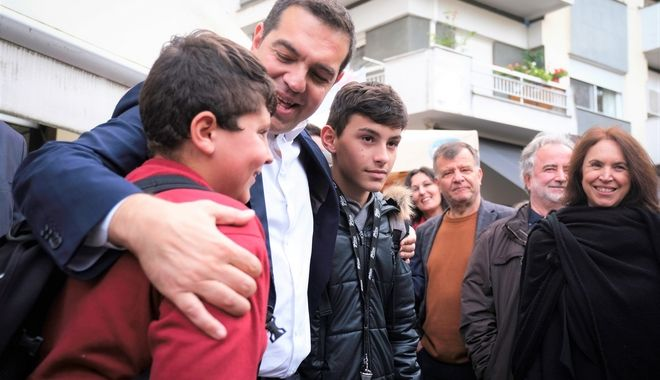Από τη περιοδεία του Αλέξη Τσίπρα στη Δυτική Μακεδονία.