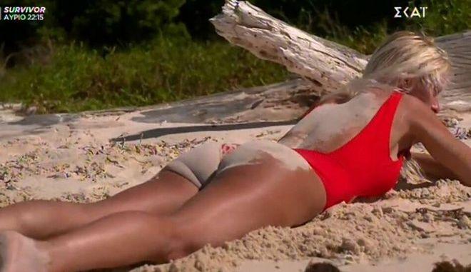 Η Ασημίνα Ιγγλέζου στο Survivor 4