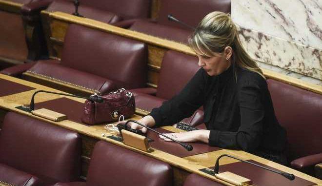 Μόνη συζήτηση και ψήφιση του νομοσχεδίου του Υπουργείου Οικονομικών «Ρυθμίσεις για την αγορά παιγνίων και άλλες διατάξεις», πραγματοποιήθηκε σήμερα, Δευτέρα 13 Νοεμβρίου 2017, στις 18:00 το απόγευμα στη Βουλή. (EUROKINISSI / Τατιάνα Μπόλαρη)