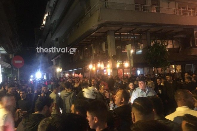 Ένταση στη Θεσσαλονίκη
