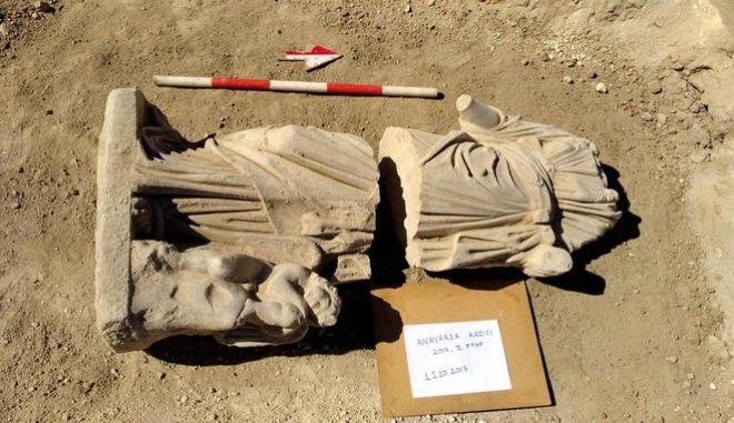 Εντυπωσιακό αρχαιοελληνικό άγαλμα της Υγείας εντοπίστηκε στην Τουρκία
