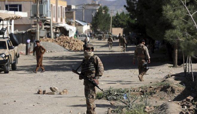 Έκρηξη βόμβας στο Αφγανιστάν (φωτογραφία αρχείου)
