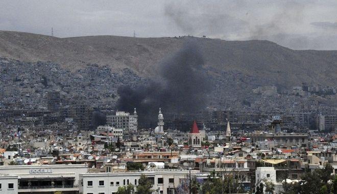 Οι Συριακές δυνάμεις ανέκτησαν τον έλεγχο της πρωτεύουσας της Συρίας, τη  Δαμασκό