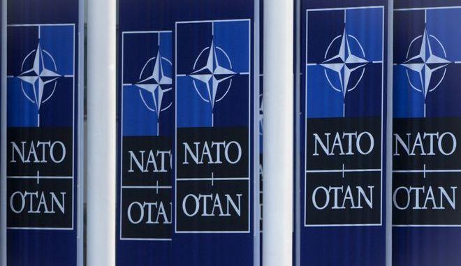 Στιγμιότυπο από τα κεντρικά γραφεία του ΝΑΤΟ στις Βρυξέλλες
