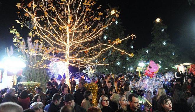 Ένα Χριστουγεννιάτικο Πάρκο στο Αίγιο με επίκεντρο την Κυκλική Οικονομία
