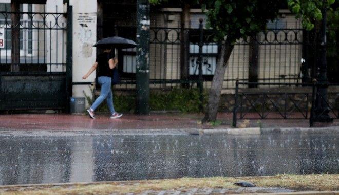 Καταιγίδα - φωτογραφία αρχείου