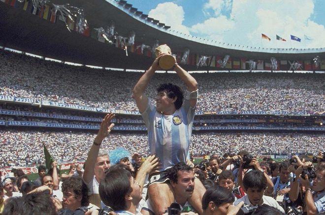 Ο Diego Maradona το 1986