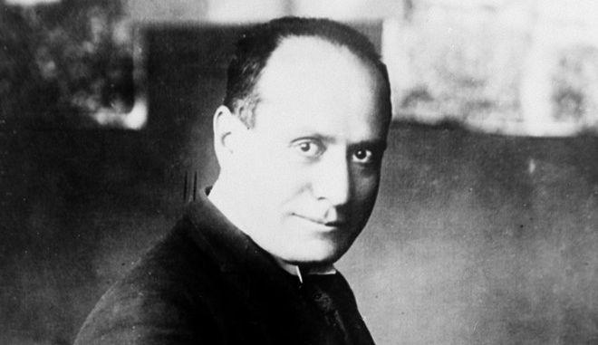 Ο Μπενίτο Μουσολίνι