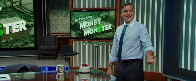 Ο Τζορτζ Κλούνεϊ πληρώνει για το τέρας του καπιταλισμού σε τρεις σκηνές από το 'Money Monster'