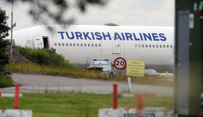 Αναγκαστική προσγείωση αεροσκάφους της Turkish Airlines στην Κένυα