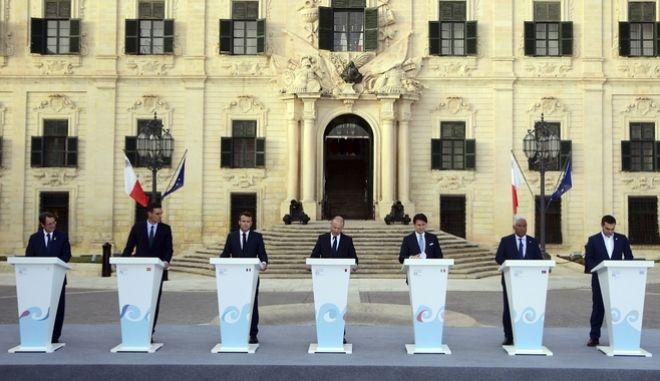 """Οι """"Med7"""" καλούν την ΕΕ να λάβει μέτρα σε περίπτωση που η Τουρκία δεν σταματήσει τις παράνομες δραστηριότητές της στην Κύπρο"""
