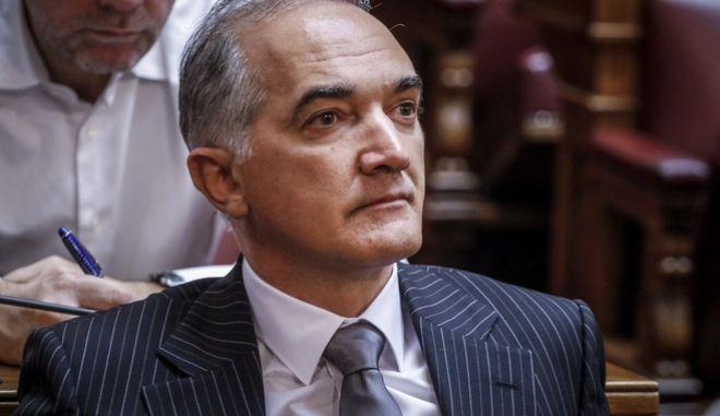 O βουλευτής της ΝΔ, Μάριος Σαλμάς.