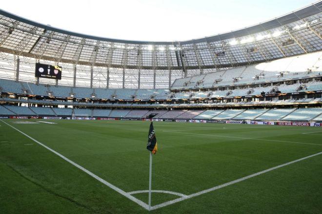 Αποψη από το Ολυμπιακό Στάδιο του Μπακού
