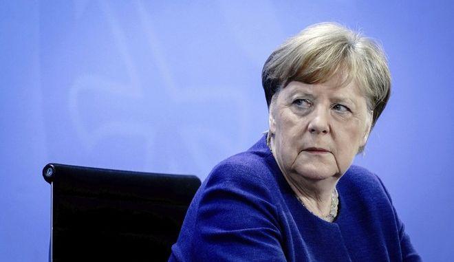 Η Γερμανίδα Καγκελάριος Άγκελα Μέρκελ