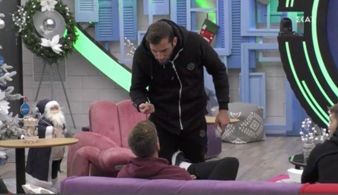 """ΕΣΡ: Σχηματίστηκε φάκελος για τον καβγά του Δημήτρη Κεχαγιά στο """"Big Brother"""""""