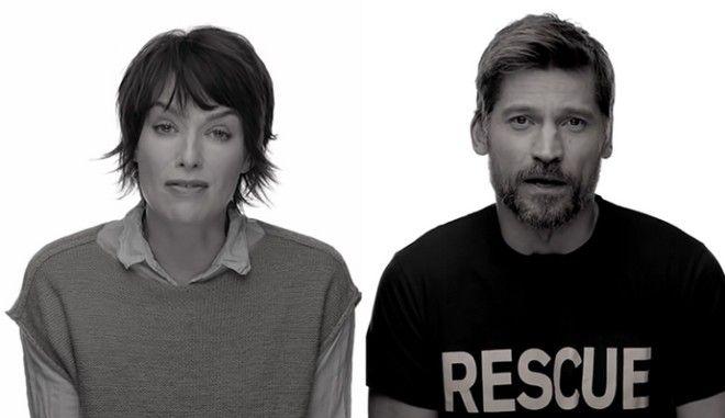 Στο πλευρό των προσφύγων οι ηθοποιοί του Game of Thrones