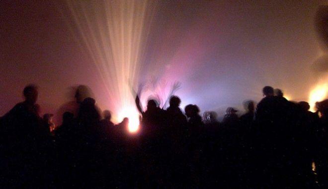 Ρέιβ πάρτι στην Γαλλία (φωτογραφία αρχείου)