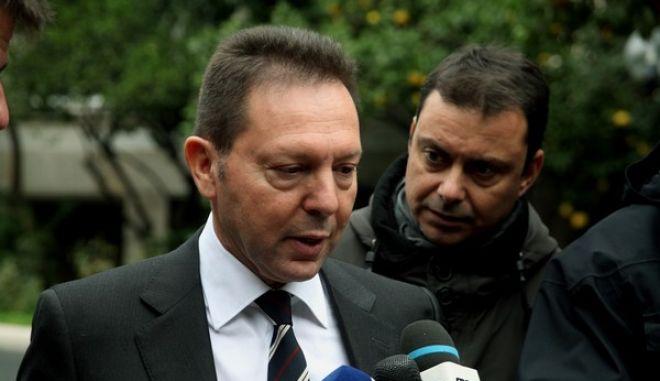 Στιγμιότυπο από την ολοκλήρωση της συνεδρίασης του Κυβερνητικού Συμβουλίου Μεταρρύθμισης στο Μέγαρο Μαξίμου,στην φωτογραφία ο Αντιπρόεδρος της Κυβέρνησης και Υπουργός Εξωτερικών Βαγγέλης Βενιζέλος,Πέμπτη 12 Δεκεμβρίου 2013 (EUROKINISSI/ΑΛΕΞΑΝΔΡΟΣ ΖΩΝΤΑΝΟΣ)