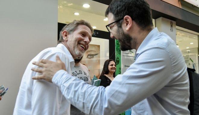 Παύλος Γερουλάνος και Νάσος Ηλιόπουλος
