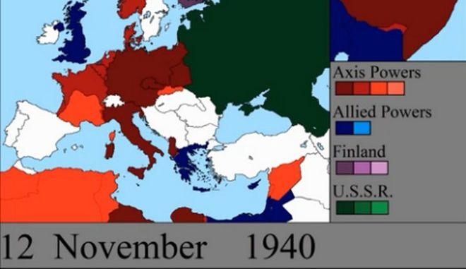 Εκπληκτικό βίντεο: Η άνοδος των Ναζί, η αντίσταση της Ελλάδας και η νίκη των Συμμάχων σε 7 λεπτά