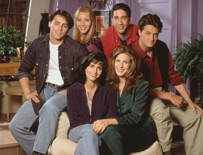 The cast of the popular comedy television series