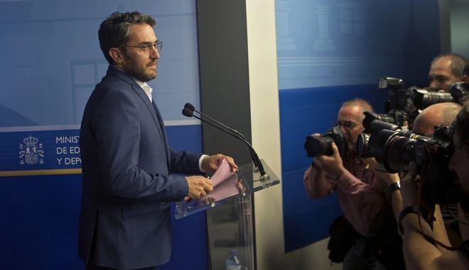 Παραιτήθηκε ο υπουργός Πολιτισμού μετά από δημοσιεύματα περί φοροαποφυγής