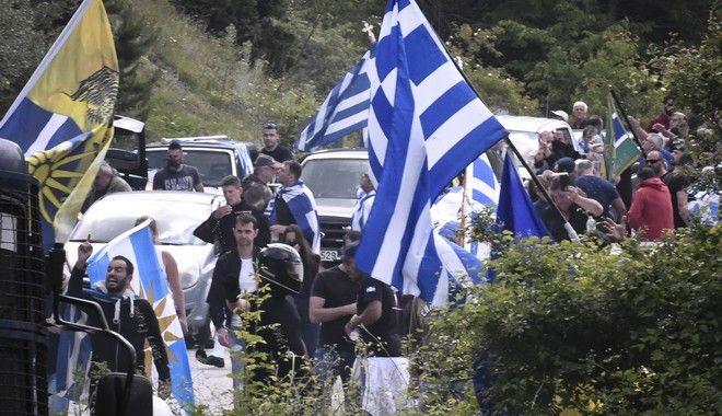 Διαδηλωτές στο Πισοδέρι