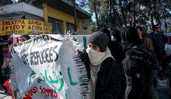 Διαδήλωση αιτούντων άσυλο στη Μόρια, Αρχείο