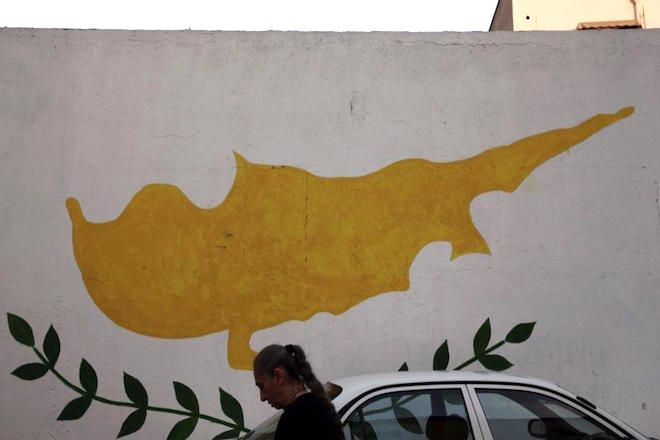 Η σημαία της Δημοκρατίας της Κύπρου