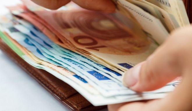 Χρήματα. Φωτό αρχείου.