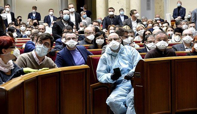 Βουλευτές της ουκρανικής Βουλής