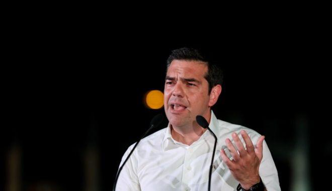 Φωτό αρχείου: Ομιλία του Πρωθυπουργού Αλέξη Τσίπρα