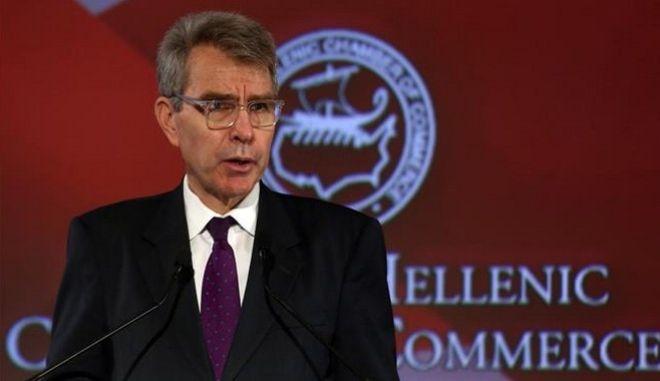 Αμερικανός πρέσβης: Η Ελλάδα πυλώνας σταθερότητας σε μια περίπλοκη περιοχή
