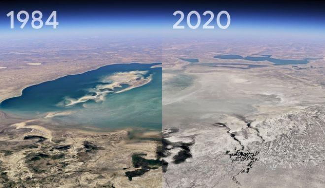 Google Earth: Πόσο άλλαξε ο κόσμος τα τελευταία 40 χρόνια
