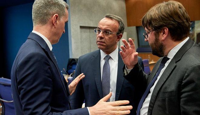 Συνεδρίαση του Eurogroup στις Βρυξέλλες (φωτογραφία αρχείου)
