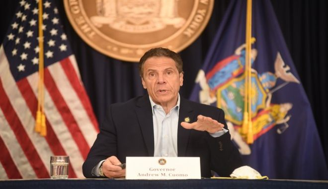 Ο κυβερνήτης της Νέας Υόρκης, Άντριου Κουόμο